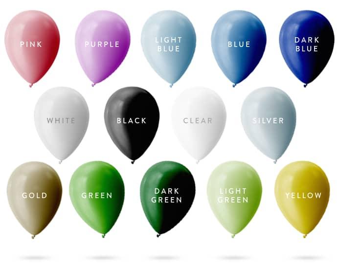 Organic Balloon Garlands
